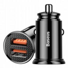 Автомобильное ЗУ Baseus BS-C16Q1 Dual USB QC3.0 30W Max Car Charger