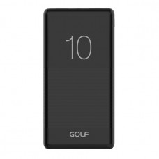 Внешний аккумулятор Golf G80 10000 mAh черный
