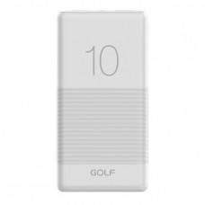 Внешний аккумулятор Golf G80 10000 mAh белый