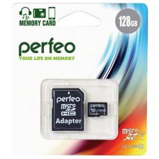 Карта памяти Perfeo MicroSDXC 128 ГБ