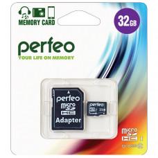 Карта памяти Perfeo MicroSDHC 32 ГБ